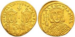 Ancient Coins - Constantine V Copronymus, with Leo IV