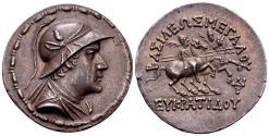 Ancient Coins - Kingdom of Bactria, Eukratides I.