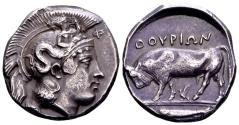 Ancient Coins - Lucania, Thurium.