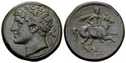 Ancient Coins - Sicily, Syracuse. Hieron II.