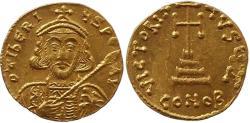 Ancient Coins - Tiberius III. Constantinople, 698-705 AD
