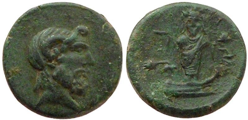 Ancient Coins - Lesbos, Mytilene. 2nd / 3rd century BC.