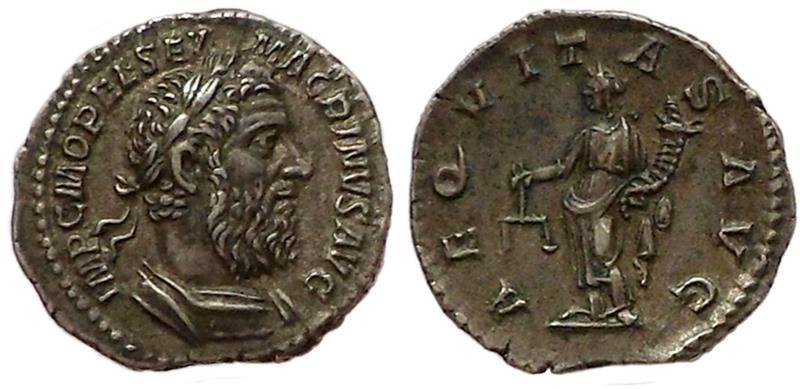 Ancient Coins - Macrinus.