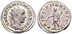 Ancient Coins - Herennius Etruscus as Caesar.