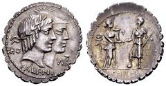 Ancient Coins - Q. Fufius Calenus and Mucius Cordus.