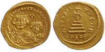 Ancient Coins - Heraclius, with Heraclius Constantine.