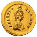Ancient Coins - Aelia Eudocia as Augusta
