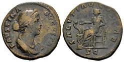 Ancient Coins - Faustina Minor.