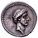 Ancient Coins - L. Flaminius Chilo.
