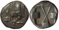 Ancient Coins - Lycia, unknown dynast, 500 – 480 BC.