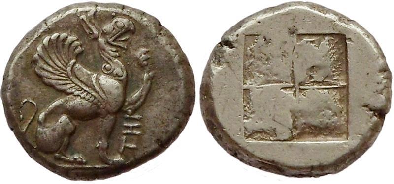Ancient Coins - Ionia, Teos. Ca. 478 - 449 BC.