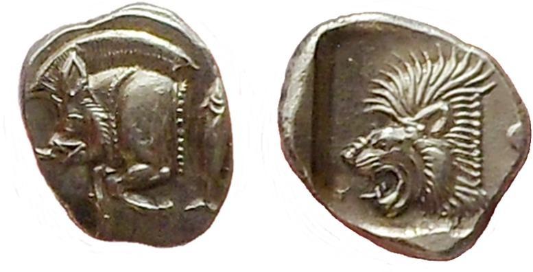 Ancient Coins - Mysia, Kyzikos. 525-475 BC