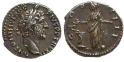Ancient Coins - Antoninus Pius. 148-149 AD.