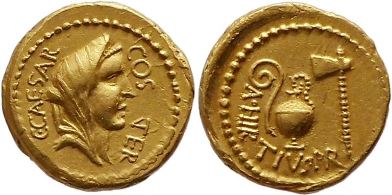 Ancient Coins - G. Julius Caesar