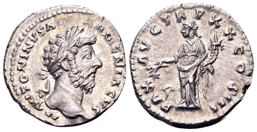Ancient Coins - Marcus Aurelius.