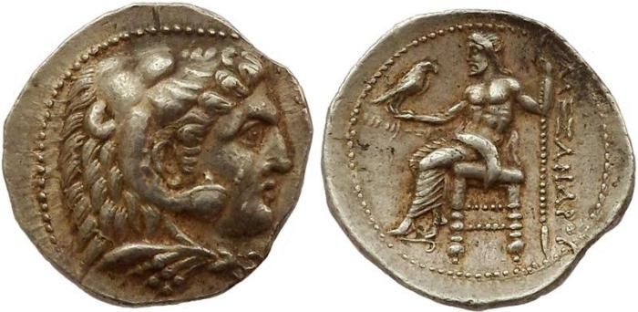 Ancient Coins - Macedonia, Alexander III. Akko, posthumously struck 311 – 310 BC