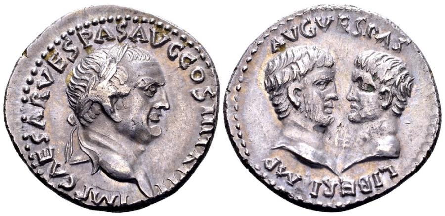 Ancient Coins - Vespasian.