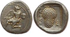 Ancient Coins - Cilicia, Soloi. 425-400 BC.