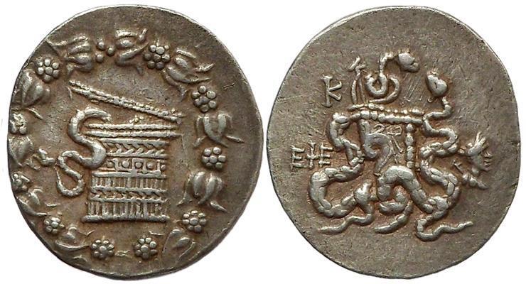 Ancient Coins - Ionia, Ephesos. 140-139 BC.