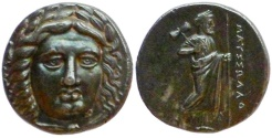 Ancient Coins - Satraps of Caria. Maussolos. Ca. 370-360 BC. Tetradrachm.