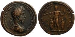 Ancient Coins - Marcus Aurelius. Medallion. 168 AD.