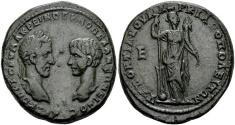 Ancient Coins - Macrinus & Diadumenian. Markianopolis, 217-218