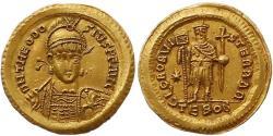 Ancient Coins - Theodosius II.