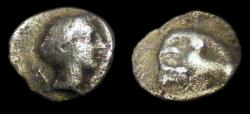 Ancient Coins - Caria: Uncertain hemiobol