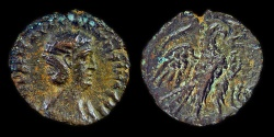 Ancient Coins - Alexandria, Egypt: Salonina (wife of Gallienus)