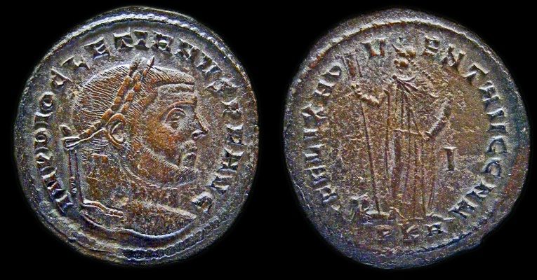Ancient Coins - Diocletian: Carthage