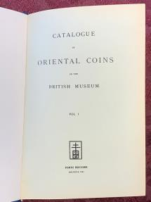 Ancient Coins - Catalogue of Oriental Coins in the British Museum