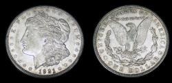 Us Coins - United States Morgan Dollar