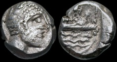 Ancient Coins - Phoenicia, Arados. Uncertain king.