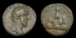 Ancient Coins - Cappadocia, Caesarea: Lucius Verus