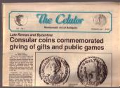 Ancient Coins - The Celator Vol. I, No. I