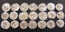 Ancient Coins - Septimius Severus Denarii