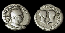 Ancient Coins - Vespasian Dynastic Issue
