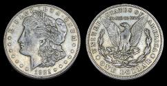 Us Coins - Morgan Dollar - 1921-S