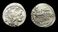 Roman Republic:  L. Sentius C.f.