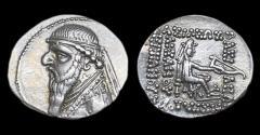 Ancient Coins - Parthia: Mithradates II