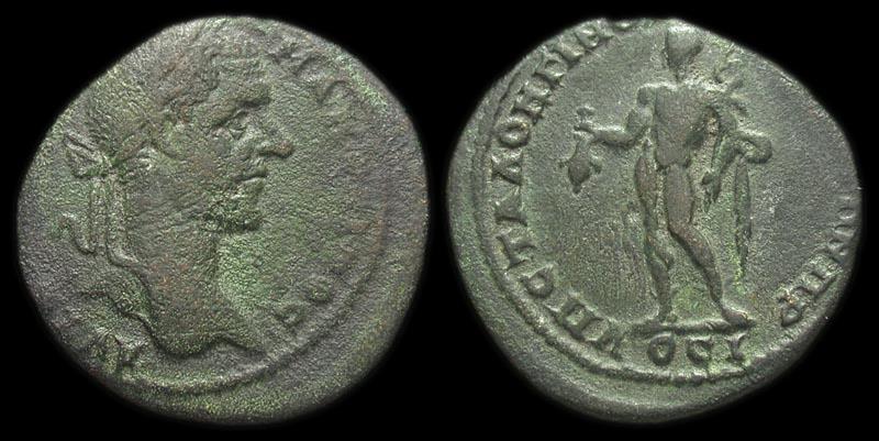 Ancient Coins - Nicopolis ad Istrum: Macrinus