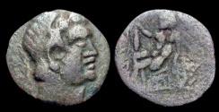 Ancient Coins - Sogdiana (Euthydemos I Baktrian imitation)