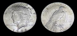 Us Coins - United States Peace Dollar