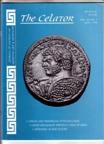 Ancient Coins - Group of Five Celator Back Issues