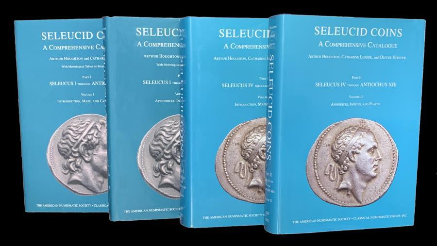 Ancient Coins - Seleucid Coins Set of 4 volumes