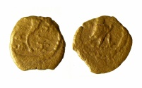 Ancient Coins - A bronze coin (fractional prutah) of Herod the Great, mint of Jerusalem