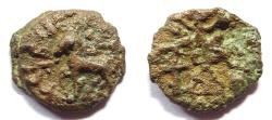 Ancient Coins - INDIA, CITY STATES: Suktimati copper coin. Extremely Rare and UNLISTED.