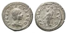 Ancient Coins - Roman Empire, AR Denarius, Julia Maesa, VF