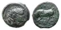 Ancient Coins - Italia, Gela, AE Trias, VF-