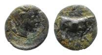 Ancient Coins - Italia, Gela, AE Trias, VF+